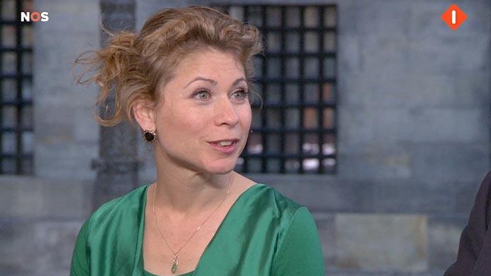 Kysia Hekster NOS commentator