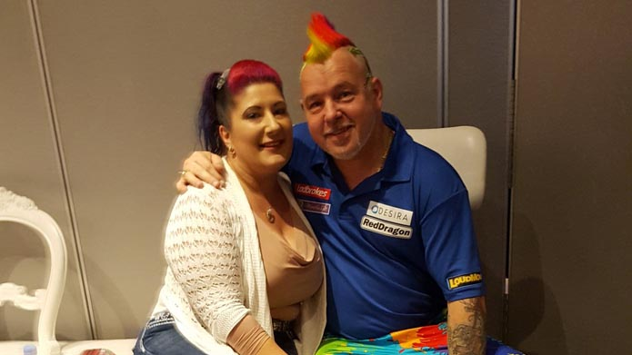 Peter Wright Joanne Wright