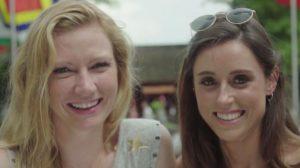 Laura en Ann-Sophie Peking Express