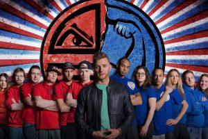 Bo, Jamaal, Danie, Danny, Yvonne, Iem Team Blauw Dat Wordt Oorlog!