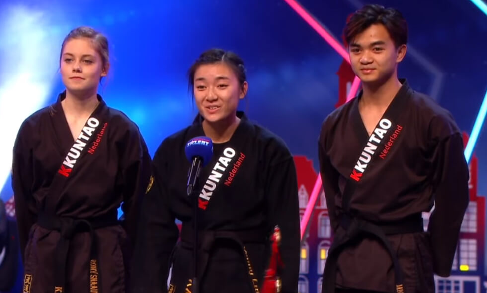 Michel Yenny Romy Kempo Kuntao Holland's Got Talent