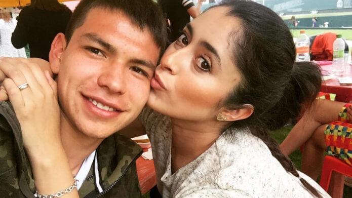 Ana Opp Obregon vriendin Hirving Lozano