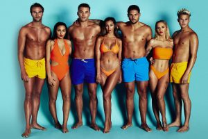 Marty, Che, Jordan, Nicole, Max, Fatima, Savannah en Dean in Ex on the Beach seizoen 7
