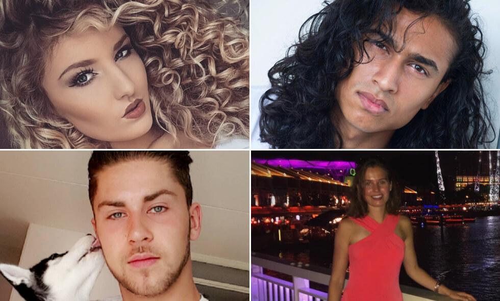 Lohrenz, Chris, Veranique en Fabiola Holland's Next Top Model HNTM