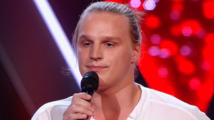 David van Rooij The Voice of Holland TVOH