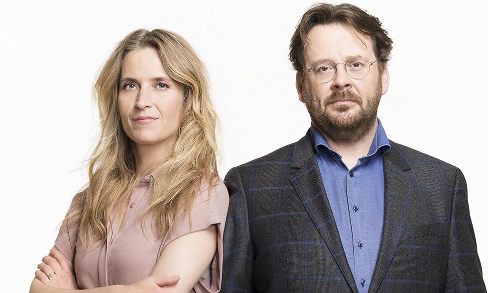 Arjan Mos, Wessel Saarloos, Brigitte Koolen in De Rijdende Rechter