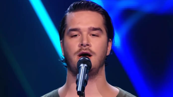 Sebastiën van Dorp The Voice of Holland TVOH