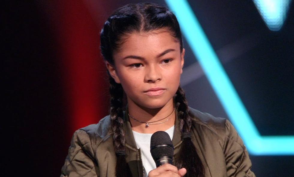 Cyanne van Leuveren The Voice Kids