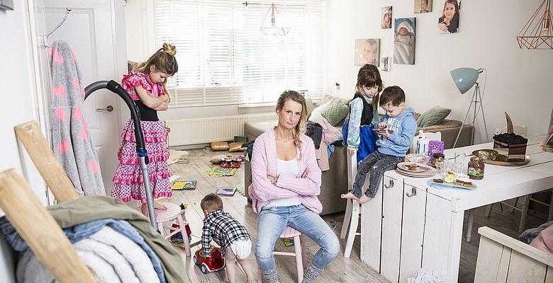 Mandy Roelvink familie De Opvoeders