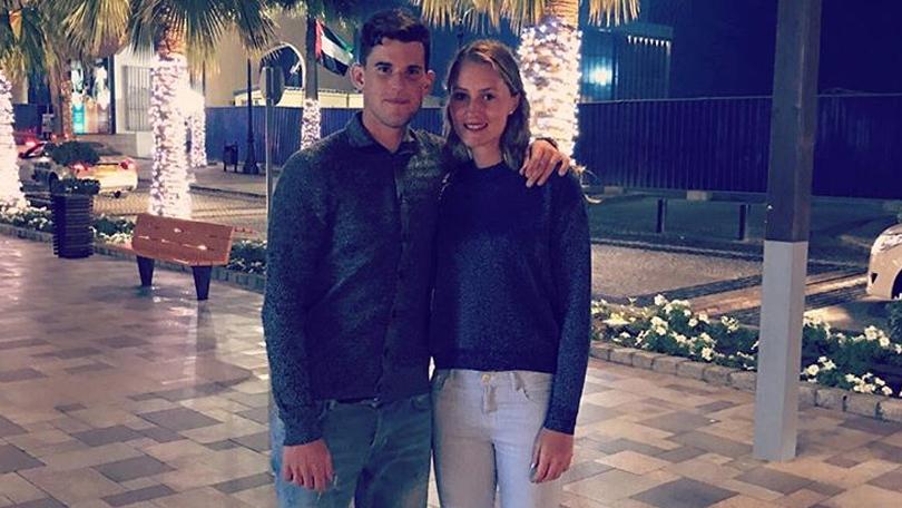 Kristina Mladenovic vriendin Dominic Thiem