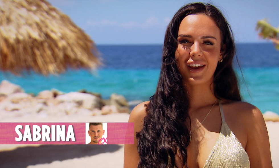 Sabrina ex Robin Ex on the Beach Double Dutch