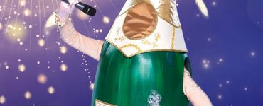 Champagnefles The Masked Singer Oud en Nieuw