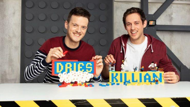 Dries en Killian Lego Masters